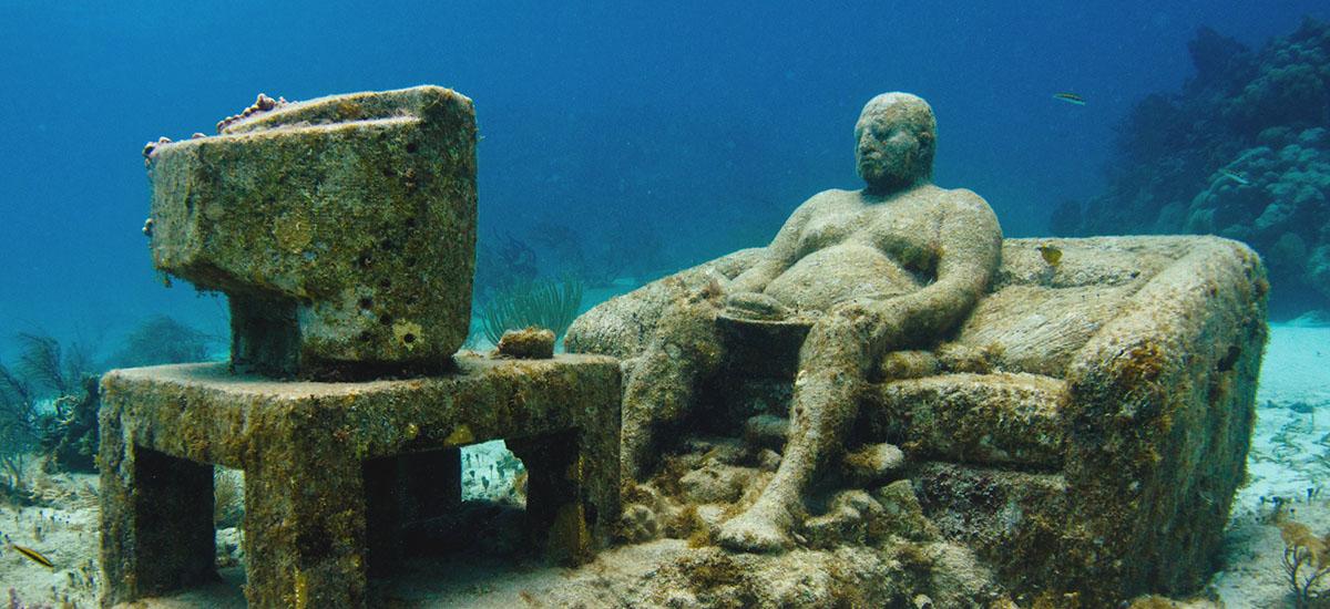 墨西哥坎昆水下博物館 Cancun Underwater Museum/ Museo Subacuático de Arte
