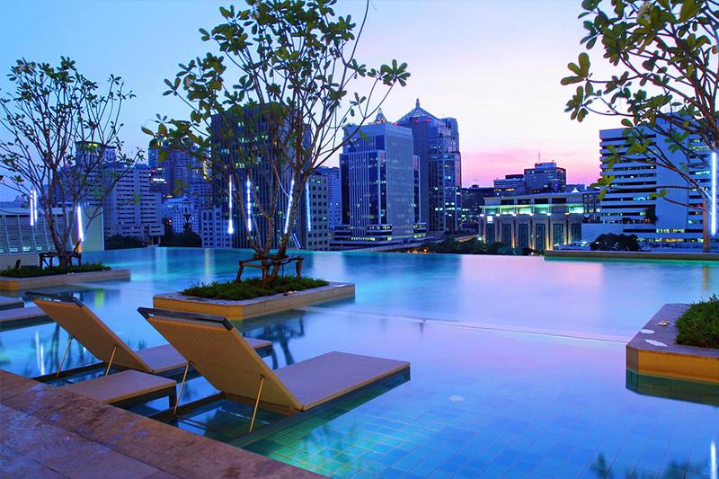 【打卡熱點】曼谷 Infinity Pool無邊際泳池飯店 Top 5