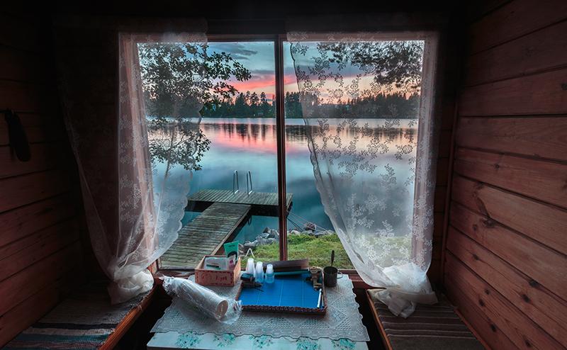 芬蘭浴桑拿