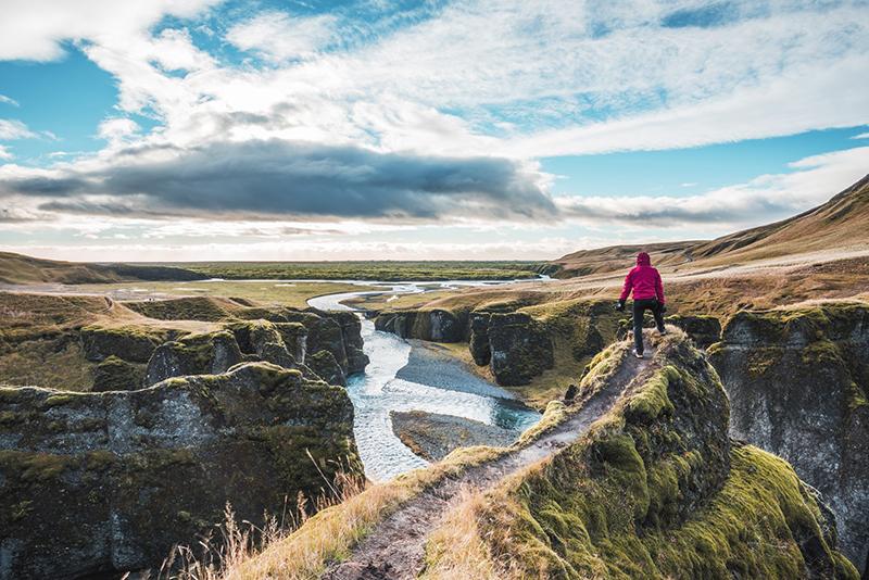 冰島羽毛峽谷
