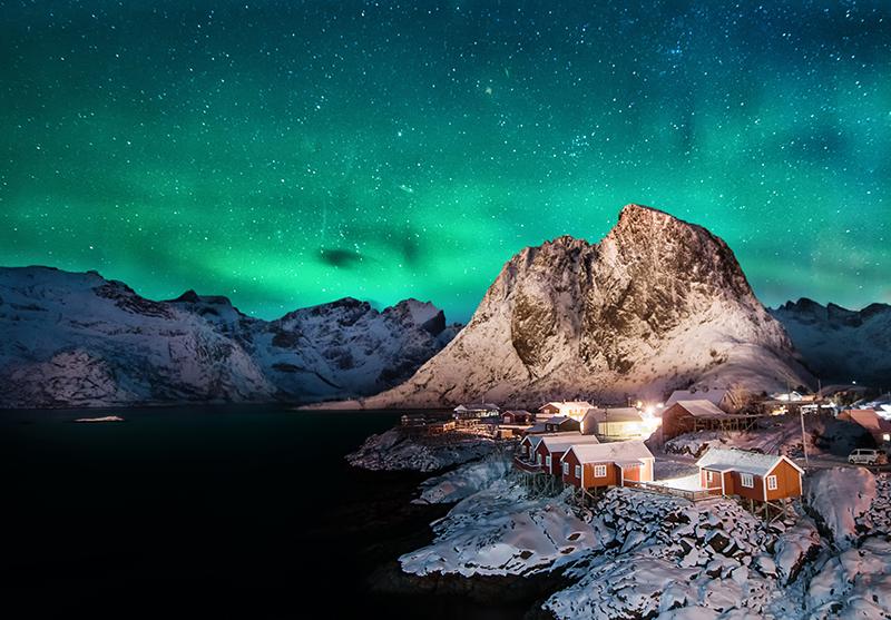 挪威羅弗敦群島Hamnoy