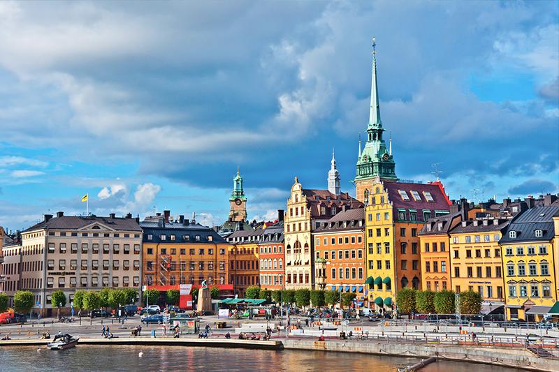 瑞典斯德哥爾摩老城