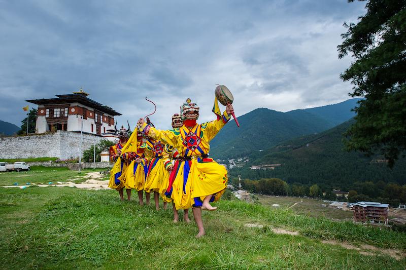 不丹策秋慶典