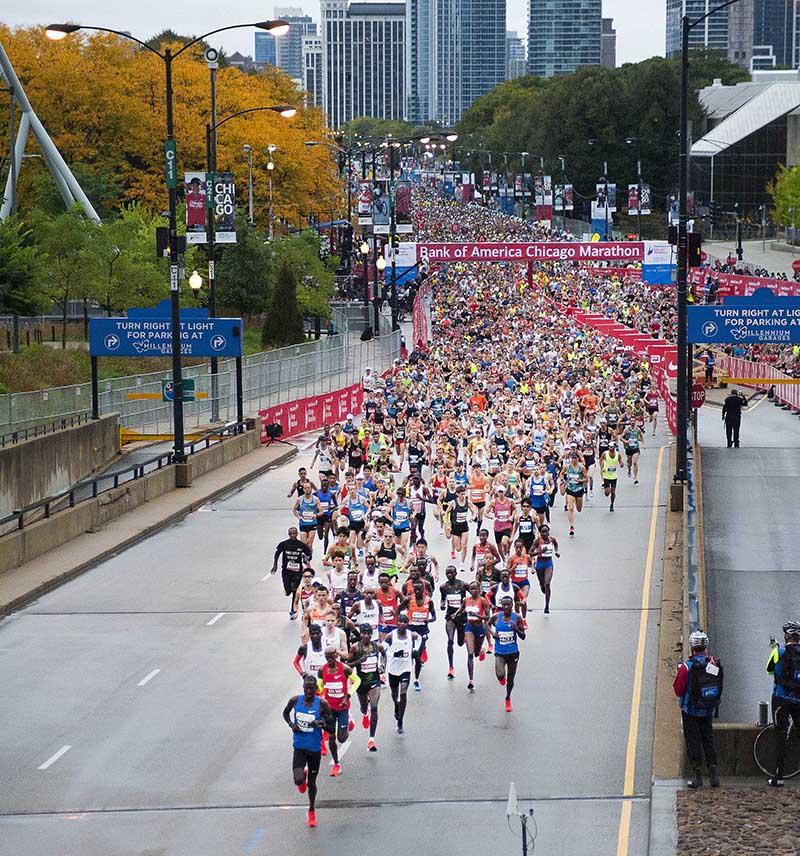 芝加哥馬拉松