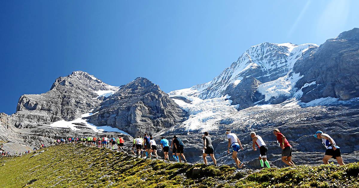 瑞士少女峰馬拉松