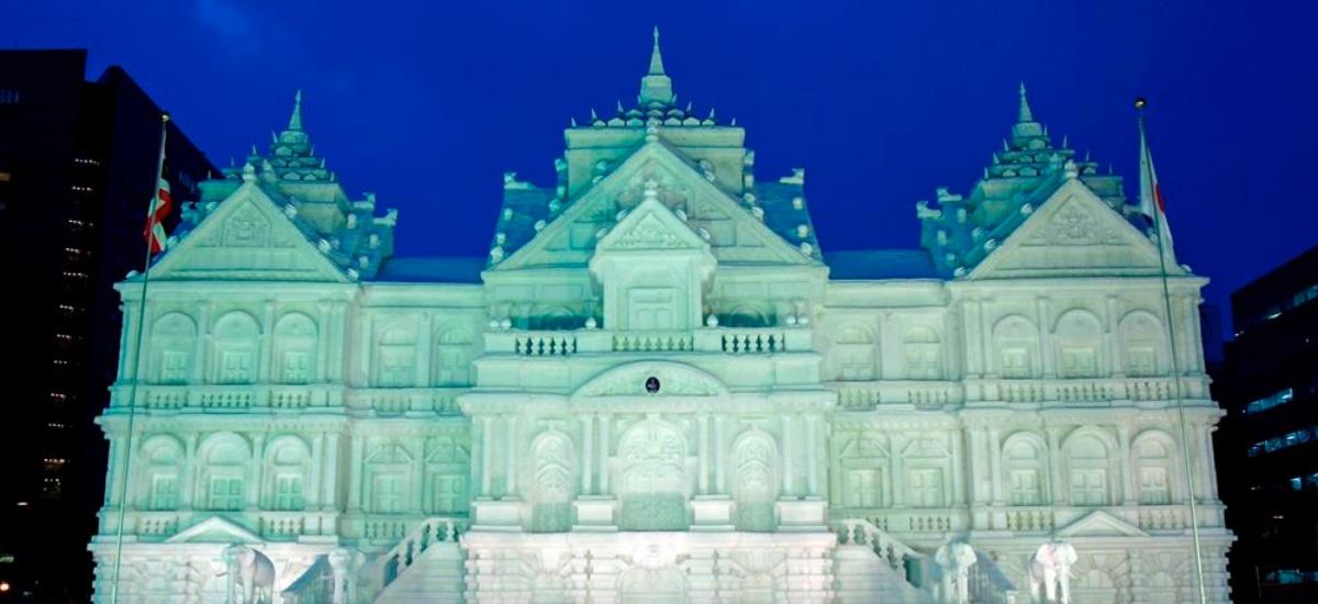 札幌-雪祭-機票