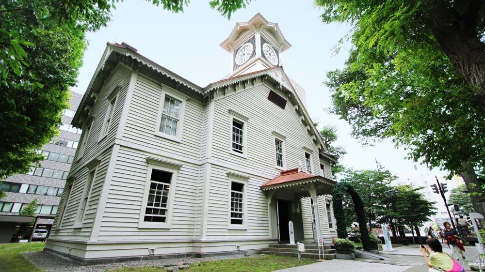 札幌景點-札幌市時計台