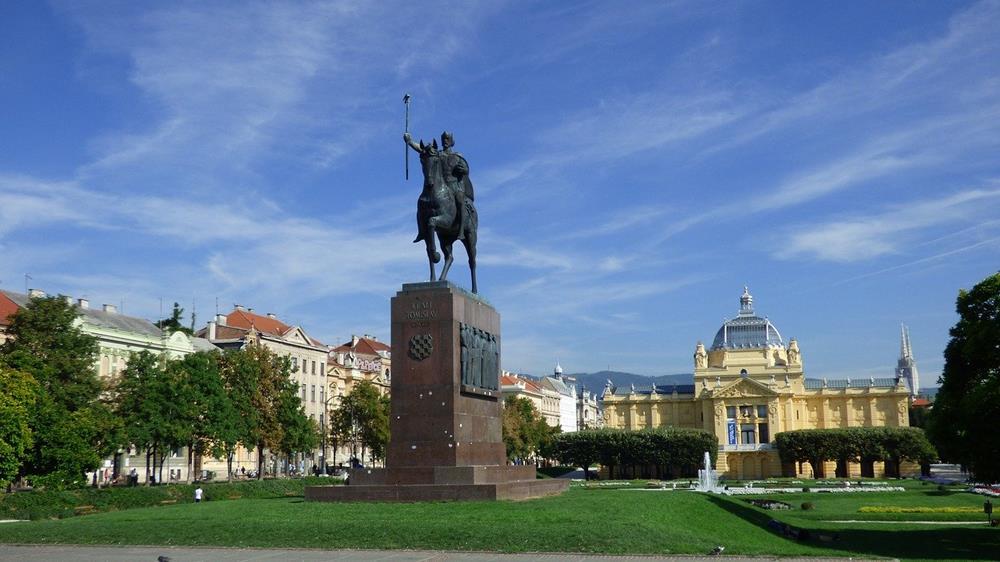 克羅埃西亞景點-薩格勒布-國王托米斯拉夫廣場