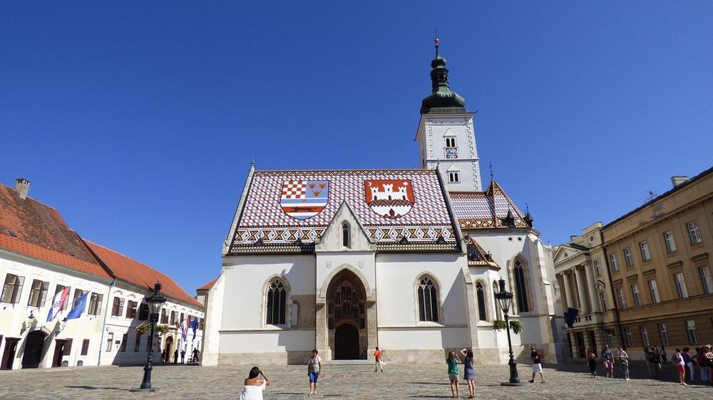 克羅埃西亞景點-薩格勒布-st.marks聖馬爾谷教堂