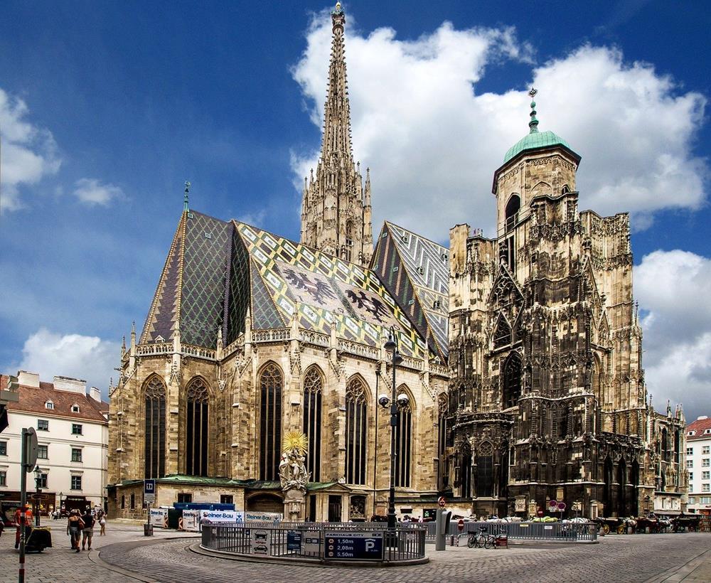 維也納景點-聖史提芬大教堂