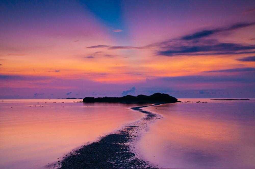 澎湖景點-奎壁山赤嶼日出